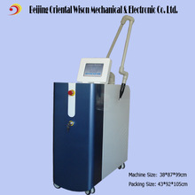 4 Wavelengths 1064nm 532nm 585nm 650nm EO q-switched nd:yag laser tattoo removal
