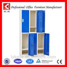 6 door metal hanging almirah quality indigo and white 6 doors wardrobe fashionable bedroom furniture 6 door wardrobe