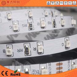 wireless 3528 60leds/m dc12v addressable hgh quality 4.8w/m rgb battery powered led strip light wholesale CE&RoHS