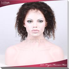 Isabel Hair 100% human hair full lace wig natural color full lace virgin brazilian human hair wig
