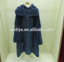 inverno maglieria moda maglia cardigan maglione pesante cavo maglia donne cappotto