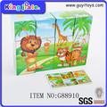 la mejor calidad super seguridad baratos más calientes de venta baratos juguete de madera del cubo rompecabezas