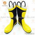 De combate aincêndios bombeiro botas com biqueira de aço- ayonsafety