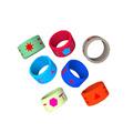 Silikon farbige o-ringe für dichtungen