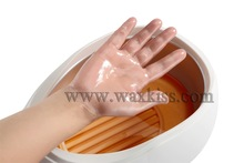 Alisamento mão spa cera, beleza suave umedecer cera de parafina