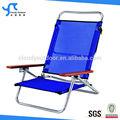madeira cadeira de praia cadeira de praia de dobramento ao ar livre dobrável com braços