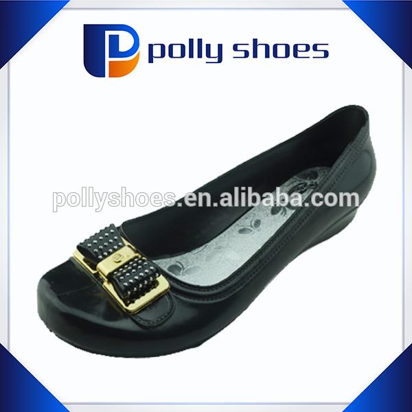 cheap wholesale pvc new ladies footwear Guangzhou