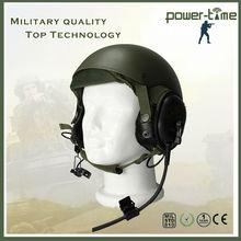 military wireless intercom system jet pilot helmet PTE-747