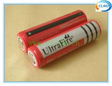non-protected UltraFire 18650 battery 3.7v 3000mAh 3200mah 4000mAh 4200mAh 3600mAh Li-ion Rechargeable Battery