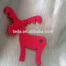 Mouse over image to zoom Gisela Graham Christmas Tree Decorations - Christmas Felt Reindeer Decorations