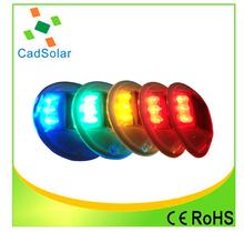 6 LED flashing led solar cat eyes road stud colorful Solar road stud