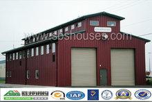 Professional Design Welded Fabric Steel Structure Single-floor Warehouse