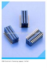 China factory dual row SMT pin header