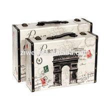 Pairs Pattern Decorative Wooden Storage Case
