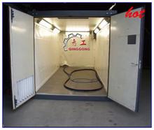 Air Blast Room/Rust Paint Removal Sand Blasting Room