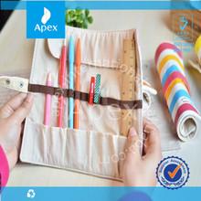 wholesale creative roll pencil bag ,pen bag,writing bag case