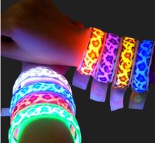 glow in dark bracelet led glow bracelet,Glow Stick Bracelets In Various Colors For Party And Concert,glow club led bracelet