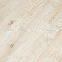 Couleur laminée. 12mm planchers de pin blanc