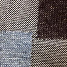 changzhouถักผ้าฝ้ายผ้ายีนส์สีครามขายร้อนในทวีปอเมริกาเหนือ