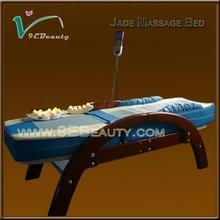 Hydro massage equipment electric adjustable jade roller massage bed
