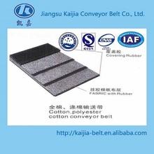 Cotton Canvas Conveyor Belt, OEM with cheap price, heat-resistant