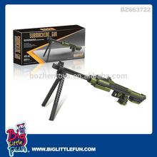 Plastic sniper rifle toy gun,building toys for boys