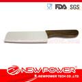 6.5'' zirconia cerâmica madeira cabeça quadrada estilo samurai faca
