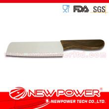 6.5'' Zirconia ceramic wooden square head style samurai knife