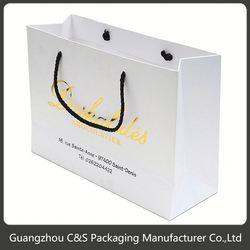 Fashion Hot-Stamping Oem Handmade Linen Gift Bags