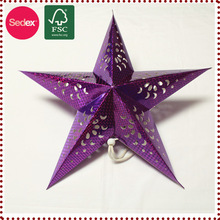 New Product Origam Star Paper lantern as New Year Favor