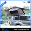 Single camping kitchen with folding table tent