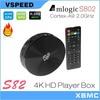 XBMC installed Amlogic S82 Quad Core black box desi tv box