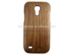 For samsung s4 mini hard case,Black walnut wooden case