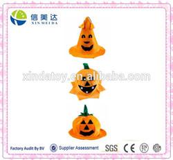 Halloween Costumes Accessory Pumpkin Hat Party Cap