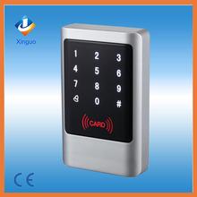 New design! IP65 Touch Panel waterproof Metal Case Outdoor RF Access Controller