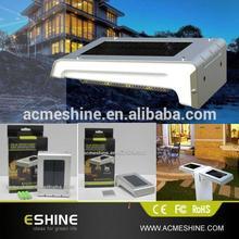 led sensitive solar motion sensor light for fence door ,window, wall