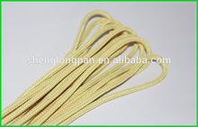 High strength kevlar twisted braided Aramid fiber rope