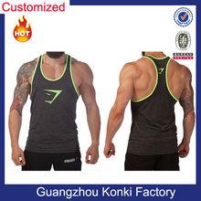 Custom High Quality 100% Cotton Men Tank Top