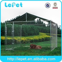 2014 hot selling chain link box steel diy dog run
