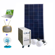 Mini Solar Home System With Bulbs,Mobile Charger,Fan And Radio