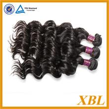 AAAAA grade quality guaranteed thick unprocessed virgin brazilian human hair