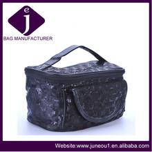 Ladies jewelry storage bag shining sequin cosmetic bag
