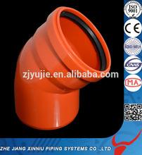 machine pvc pipe fitting pvc rubber ring fitting
