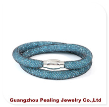 (PLL12017)Alibaba France Best Selling Product Crystal Bracelet With DIY Color For 2015