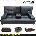 faux couro sofá de couro italiano sofá moderno ss7098