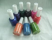 High quality odorless 12ml color nail polish 10 changing color nail polish