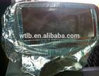 Firefighting hood aluminum foil cotton cloth