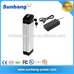 rechargeable 1865010ah e-bike battery 36 volt lithium battery pack