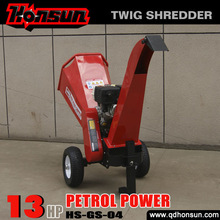 With 2 years warranty advanced self powered CE certificate 14HP Kohler engine cheap human in wood chipper