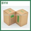 Brown kraft caja de papel de empaquetado